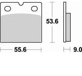 Pastiglia Braking 613CM55