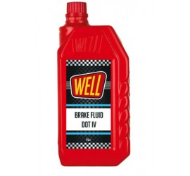 WELL BRAKE FLUID DOT IV...