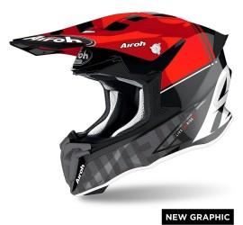Airoh TWIST rosso lucido tech